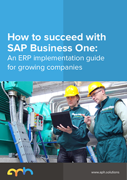 Download our guide to deploying SAP Business One for growth.