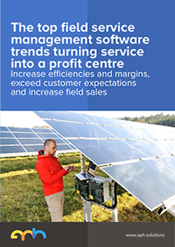 The top field service management software trends turning service into a profit centre