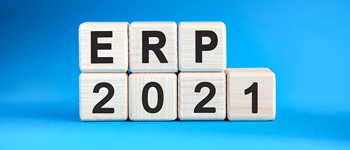 ERP trends for 2021